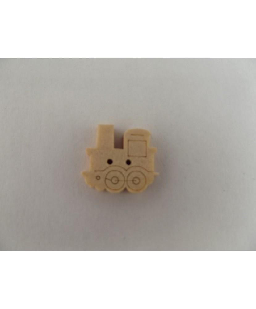 Lot 2177 - 6 boutons bois Trains