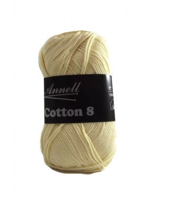 Annell -Cotton 8 - Coloris 14- Lot de 10 pelotes