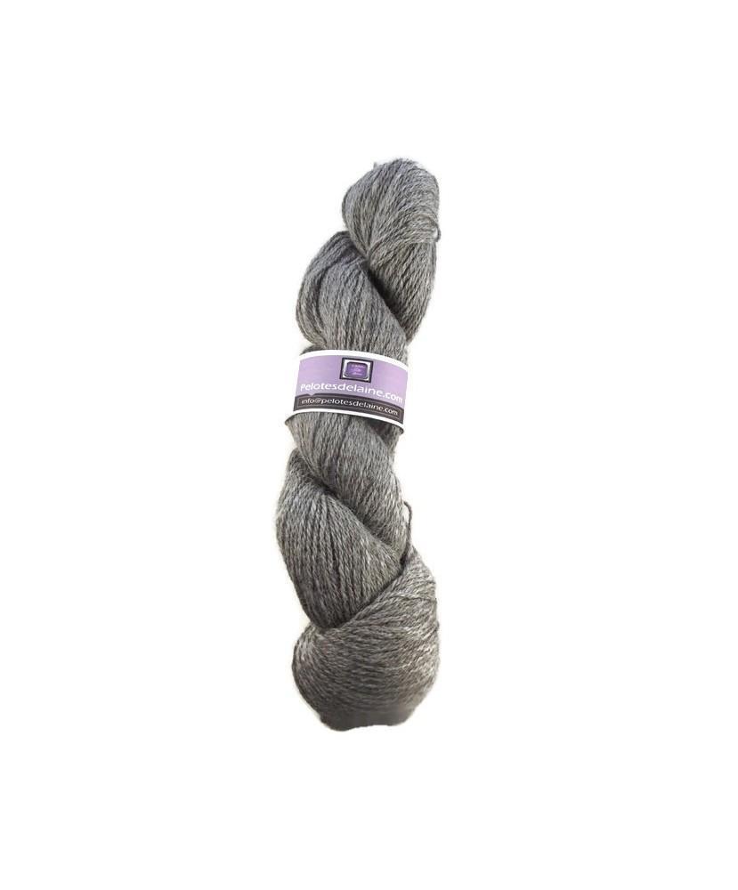 PE - Lot 3479- Lot de 5 écheveaux de 100 gr  - Coloris Silver Grey