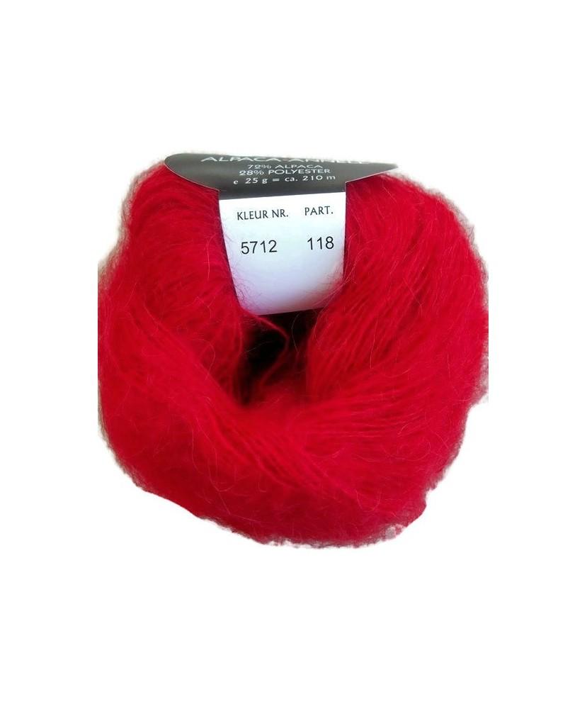 Lot 3936- Alpaga Annell Lot 10 pelotes coloris 5712
