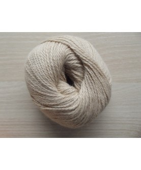 Lot 3971- 10 pelotes de 50 gr- Coloris Beige