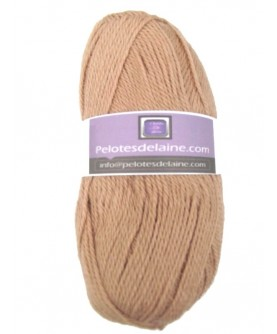 Lot 4256- Lot de 10 pelotes de 50 gr - Coloris Beige